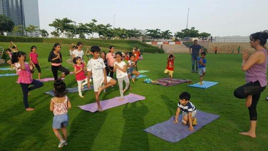 yoga course dubai